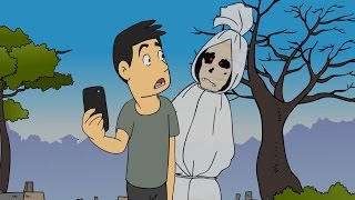 Kartun Lucu - Pocong Gaptek - Funny Cartoon