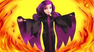 getlinkyoutube.com-Descendants Mal Turns Evil! With Wicked World Evie,Ben, Jay and Frozen Elsa & Anna, Barbie, Shopkins