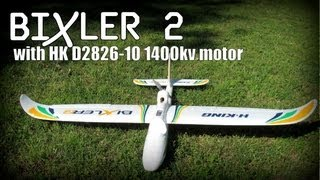 getlinkyoutube.com-Bixler 2 with D2826-10 1400kv Motor/Simple Mods + Flight Video