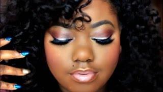 getlinkyoutube.com-Pretty Nude Glam Makeup Tutorial ft. Colour Pop Trap