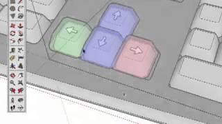 getlinkyoutube.com-Уроки по SketchUp на русском -- Техники. Фиксация по осям