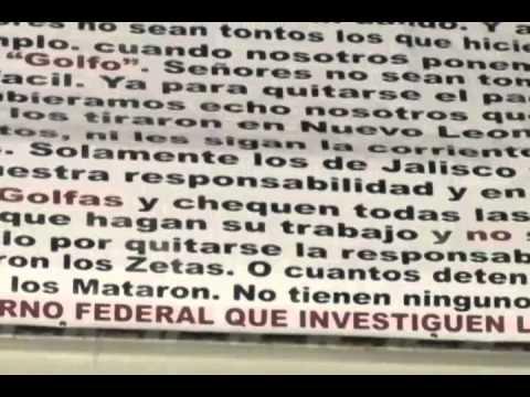 Ahora dejan narcomensajes en Fresnillo, Zacatecas
