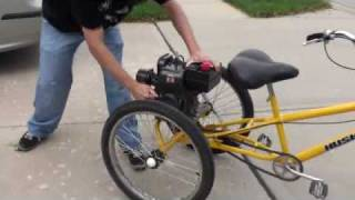 getlinkyoutube.com-Motorized Husky Tricycle - High Speed Take 1