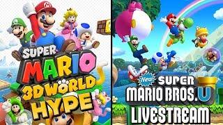 getlinkyoutube.com-Super Mario 3D World HYPE - New Super Mario Bros. U Playthrough