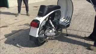 getlinkyoutube.com-Casa Lambretta 305cc BSG Corse engine