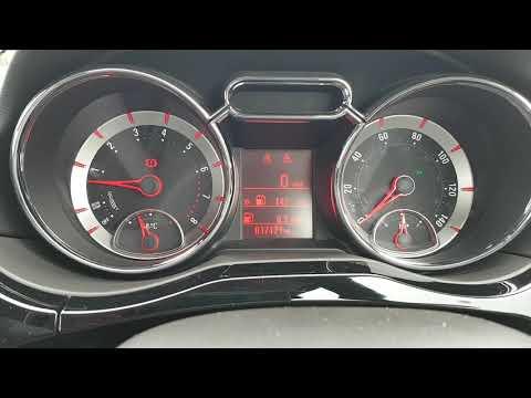 Vauxhall Adam fuel gauge failure