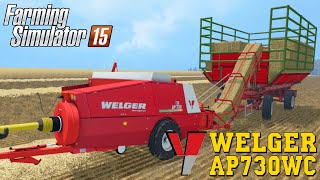 getlinkyoutube.com-Farming Simulator 2015 WELGER AP730WC Baler