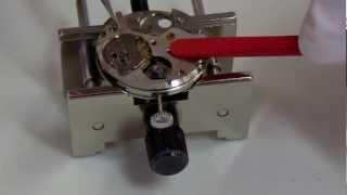 getlinkyoutube.com-SEIKO Watch Repairセイコー機械式手巻時計オーバーホール組み立て編香箱分解