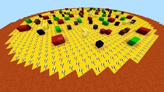 getlinkyoutube.com-Minecraft LUCKY BLOCK PIZZA SPLEEF with The Pack Minecraft Lucky Block Minigame