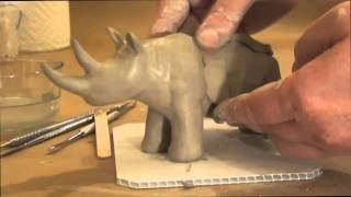 getlinkyoutube.com-Making a Simple Animal out of Clay