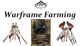 getlinkyoutube.com-Warframe Farming - Vengeful Revenant (Conculyst & Battalyst)