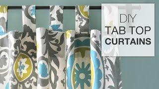 getlinkyoutube.com-DIY Tab Top Curtains