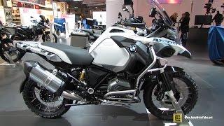 getlinkyoutube.com-2015 BMW R1200 GS Adventure - Walkaround - 2014 EICMA Milan Motorcycle Exhibition