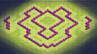 getlinkyoutube.com-Clash of Clans - TH6 Farming Base (TheDragon) Anti Giants, Healer, Baloons, Dragons