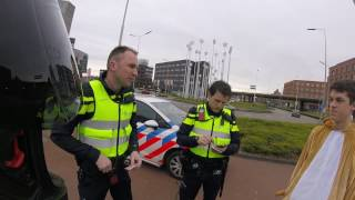 Caught by police - Piaggio Zip SP - Maastricht (Carnaval 2017)