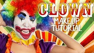 getlinkyoutube.com-Classic Clown Makeup Tutorial