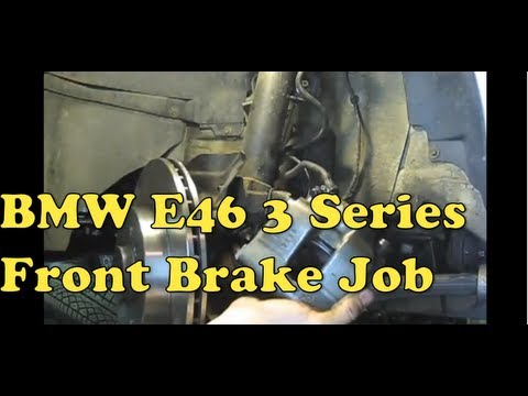 DIY #11 BMW Front Brake Repair 3 Series E46-E36 (1992 - 2006)