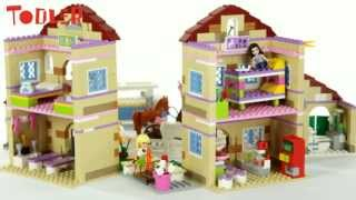 getlinkyoutube.com-Lego Friends Letni obóz jeździecki 3185