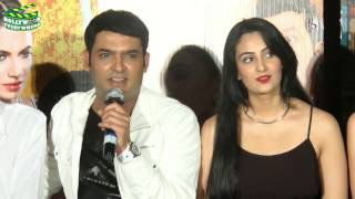 getlinkyoutube.com-Kis Kisko Pyaar Karu  2015 | Movie Promo Event |  Kapil Sharma, Elli Avram & Manjari Phadnis