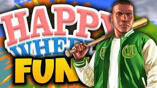 "Happy Wheels Funny Moments! - ""GTA THUG LIFE!"" - (Happy Wheels Gameplay)"