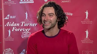 getlinkyoutube.com-Aidan Turner's Funny, Silly & Adorable Moments.