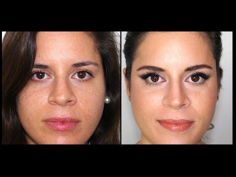Como Afinar tu nariz con maquillaje - How To Contour your nose