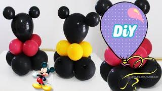 Centro de Mesa de balão para festa do Mickey Mouse
