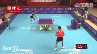 Tenis de masă: un punct formidabil