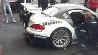 BMW Z4 GT3 Engine Warm-Up