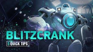 5 Quick Tips To Climb Ranked: Blitzcrank (Feat. Scrandor)
