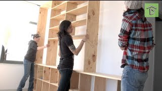 getlinkyoutube.com-DIY Shelving Unit With Allison Oropallo: No Man's Land