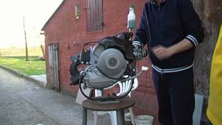 getlinkyoutube.com-vespa 50 special project: prima accensione motore pk elaborato
