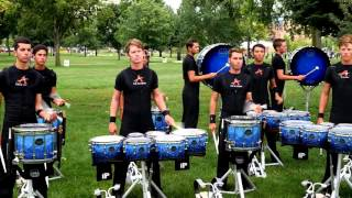 getlinkyoutube.com-The Academy 2015 Drumline - Warm Up Routine
