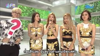 getlinkyoutube.com-[Thai Sub] 150809 Wonder Girls   Interview @ SBS Inkigayo with Jackson