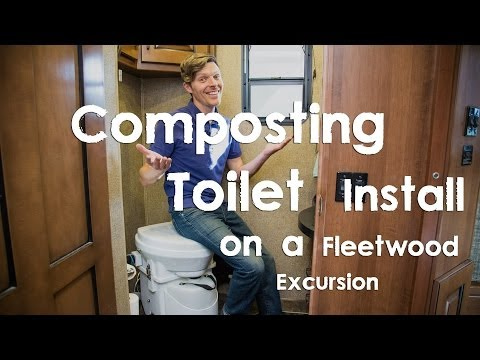 Composting Toilet Install on a Fleetwood Excursion RV