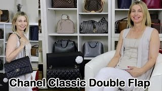 getlinkyoutube.com-Chanel Classic Double Flap Bag Review