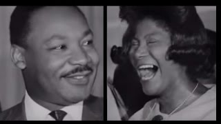 getlinkyoutube.com-Mahalia Jackson singing & Martin Luther King Jr  preaching at Church