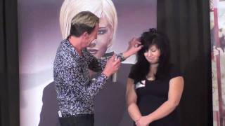COSMETOLOGY: DRY LAYER HAIRCUT 3;Tony Altiery Performs