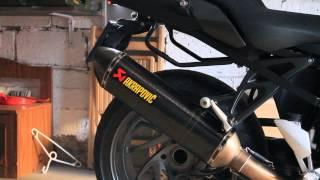 getlinkyoutube.com-BMW K1300R Akrapovic Full Exhaust