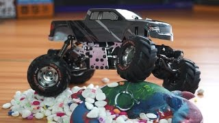 getlinkyoutube.com-HBX Devastator 1/24th Scale 4 Way Steering RC Rock Crawler