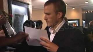 getlinkyoutube.com-Heath Ledger at The Ring premiere
