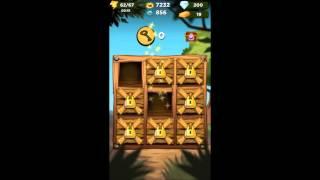 getlinkyoutube.com-Best Fiends  Newt Sticker Treasure Hunt walkthrough gameplay