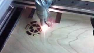 getlinkyoutube.com-Cutting 5mm ply with 60w CNC homemade CO2 laser