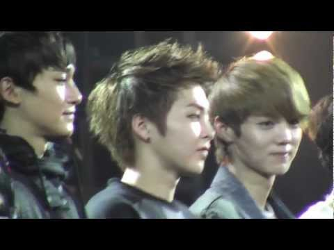 [Fancam] 120429 SS4 in Indonesia Ending EXO M Tao Focus
