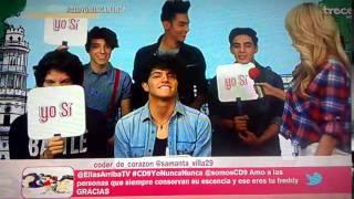 getlinkyoutube.com-CD9 en Yo Nunca Nunca en Ellas Arriba 05/05/15