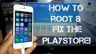 getlinkyoutube.com-Goophone i5S MTK6572 - How to Root and Google Play Fix!