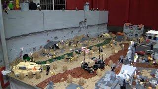 getlinkyoutube.com-Giant LEGO separatist city Jericho – BrickFair Virginia 2015