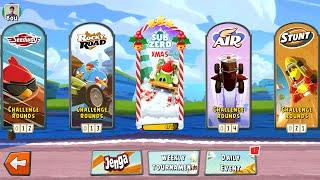 getlinkyoutube.com-Angry Birds Go! Christmas Update Gameplay Android