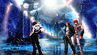 getlinkyoutube.com-[KOF Mugen] The new god of darkness ▶ Dark God Nao VS New orochi team