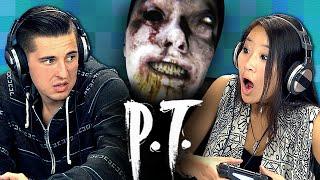 getlinkyoutube.com-P.T. [PART 1] - Silent Hills (Teens React: Gaming)